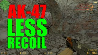 Repeat youtube video Counter Strike 1.6 Ak-47 Less Recoil Trick | Hack