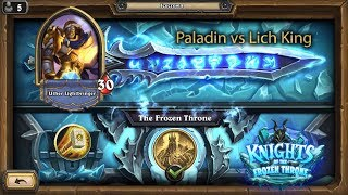 Hearthstone: Paladin vs Lich King a very budget deck