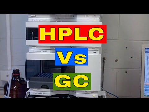 Difference Between HPLC And GC │HPLC Vs GC