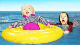 Valentina e seu dia super divertido com Baby Doll