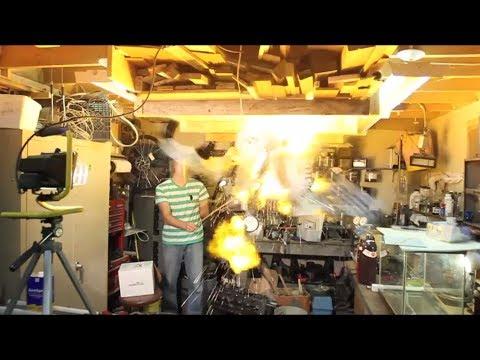 Hydrogen Explosion!