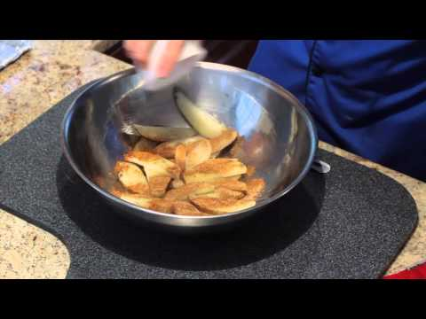Old Bay Baked Potato Wedges in the Oven : Quick Snacks & Kitchen Tips