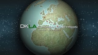 DKLA Travel: European Honeymoon 2011 (Short Version)