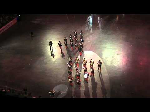 BrassBand 43e RI Lille  Musique des Forces Terrestres au Berliner militar musikfest 2010