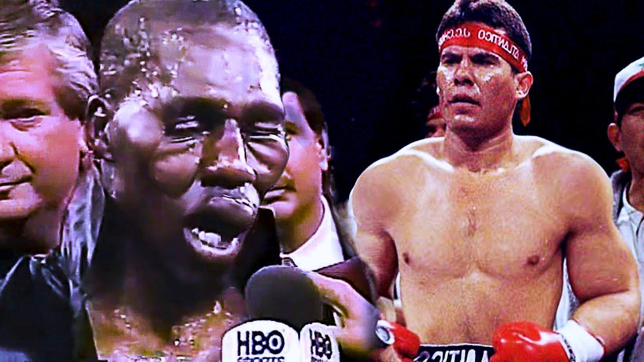 Cuando Roger Mayweather CONOCIO LA FURIA de Julio Cesar Chavez
