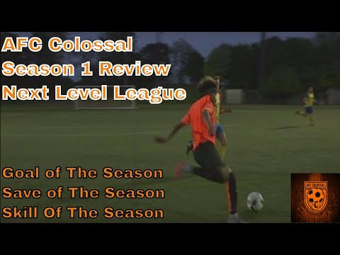 AFC COLOSSAL SEASON AWARD HIGHLIGHTS - VOTE NOW! Next Level Football League