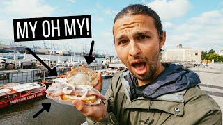 Trying Northern Germany's MΟST POPULAR FOODS   Fischbrötchen, Franzbrötchen, Labskaus + More!