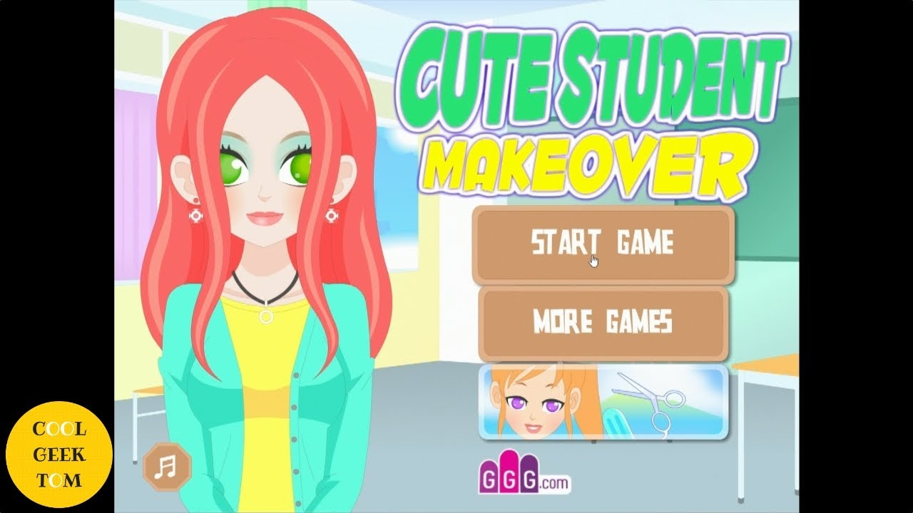 Cute Student Makeover by GirlsGoGames | Let\'s Play