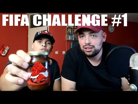 HELE HETE PEPERS ETEN - FIFA CHALLENGE 17 #1 (MET PATJEMOSS)