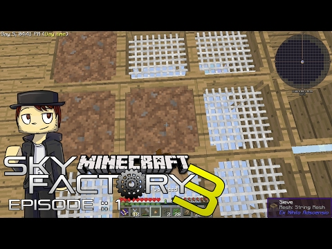 SKYFACTORY 3 | GETTING STARTED! | Episode 1 (MODDED SKYBLOCK MINECRAFT GAMEPLAY)