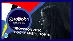 Eurovision 2020: bookmakers/odds top 41 (13/03/2020)