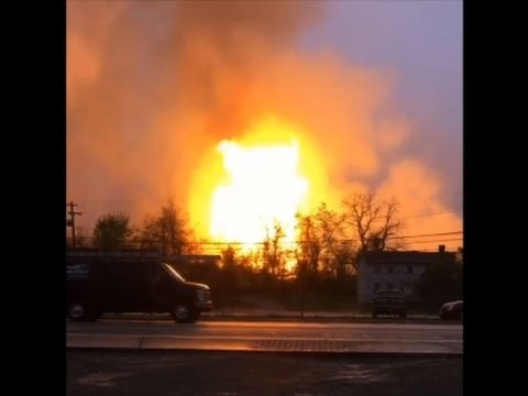 Raw: At Least 1 Injured in Pa. Gas Explosion