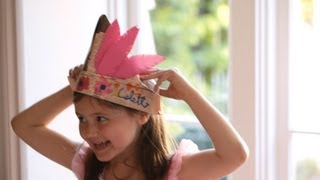 How to Create Paper Hats || KIN DIY