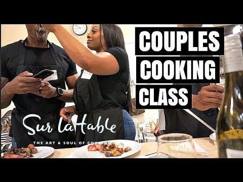 COUPLES DATE   COOKING CLASS W. ROSE' AND DUCK!