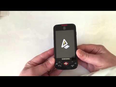 Samsung i5700 Hard Reset Remove Password GT-I7500 كيفية فورمات هاتف سامسونج