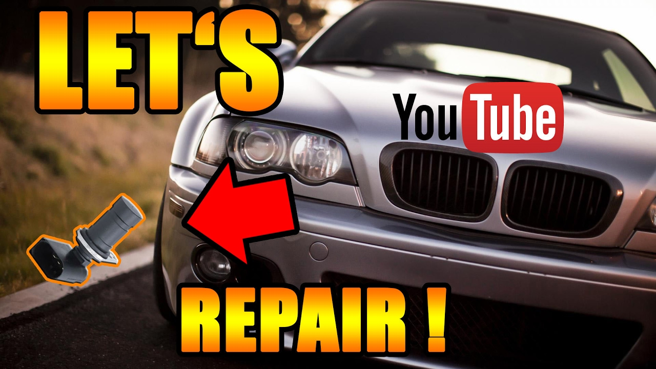Lets Repair Bmw Kurbelwellensensor Bmw E46 M54 Diy Youtube
