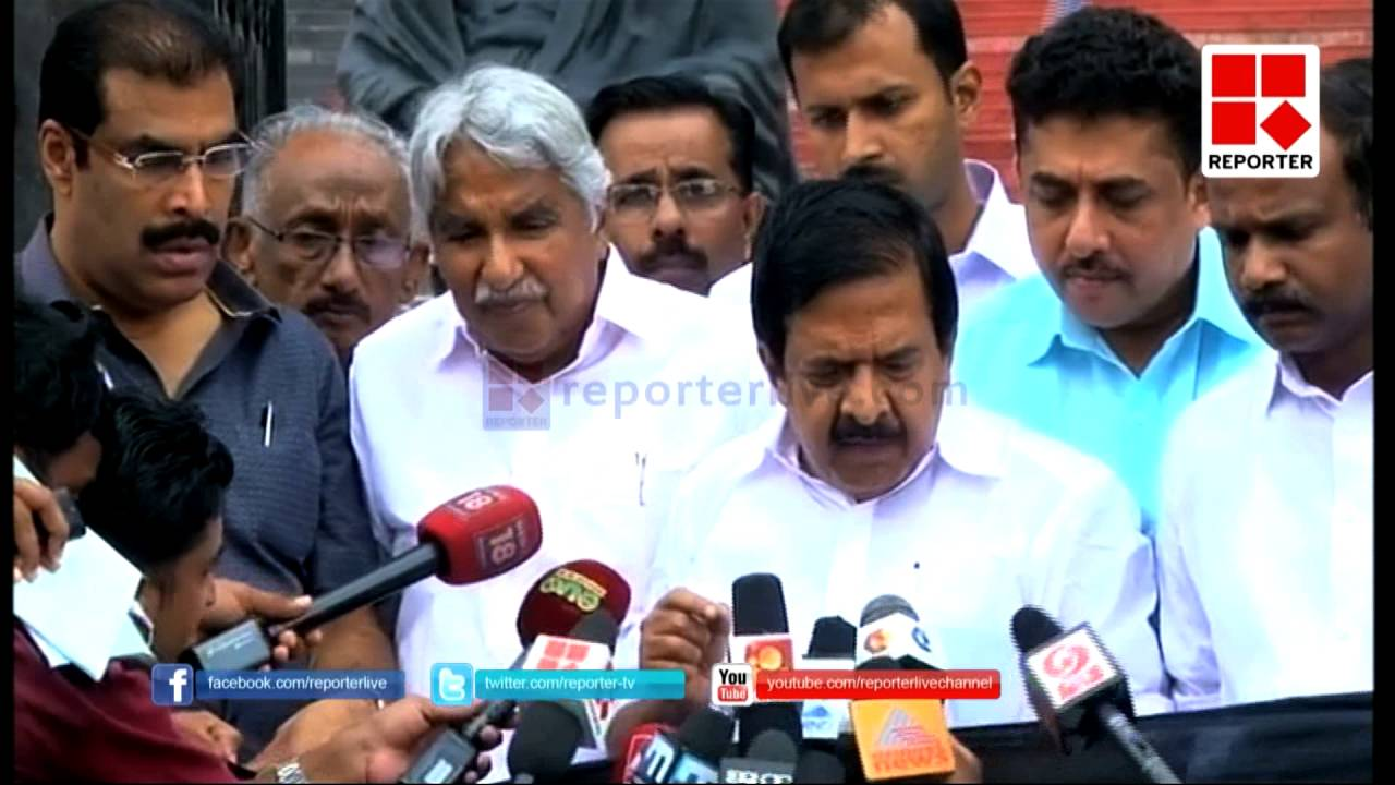 Ramesh Chennithala comment on league support