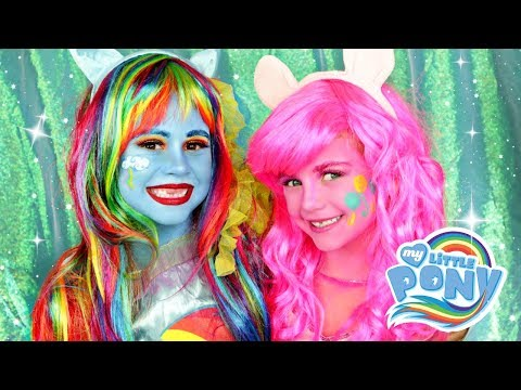 Rainbowdash And Pinkie Pie My Little Pony Makeup And Costumes