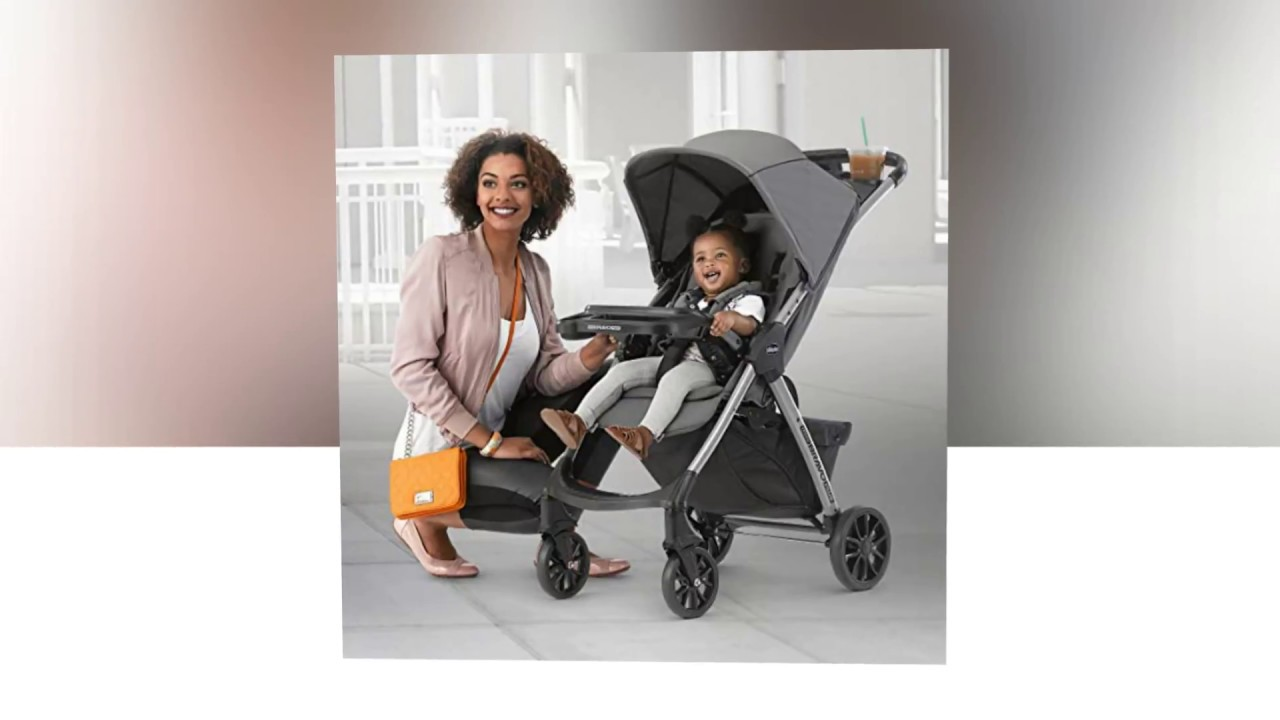 Graphite Chicco Mini Bravo Plus Lightweight Stroller