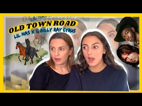OLD TOWN ROAD - LIL NAS X & BILLY RAY CYRUS *REACTION WITH MUM 🤣* || HANNAH GALEOTTI