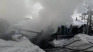 В пожаре на улице Лазо в Бердске есть погибшие