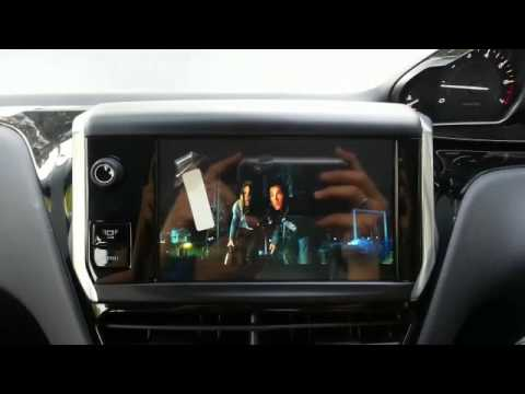 peugeot 208 navigation gps and dvd player youtube. Black Bedroom Furniture Sets. Home Design Ideas