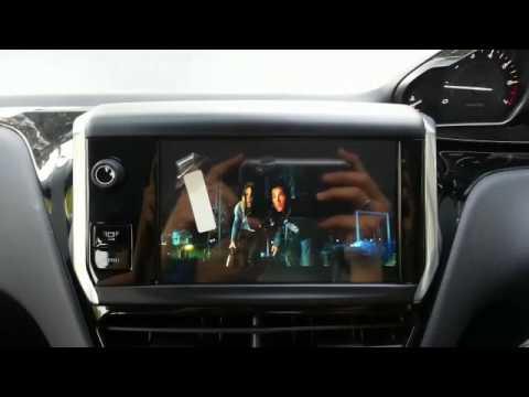 peugeot 208 navigation gps and dvd player youtube. Black Bedroom Furniture Sets. Home Design Ideas