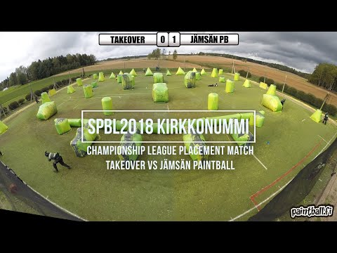 Jämsän Paintball vs Takeover - SPBL Kirkkonummi 2018