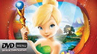 Tinker Bell and the Lost Treasure (2009) DvD Menu Walkthrough