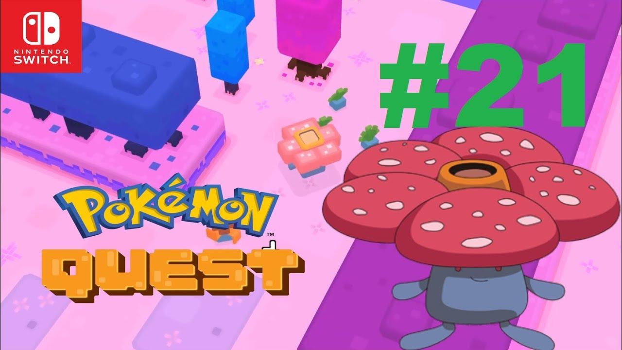 vileplume rampage pokemon quest part 21 youtube