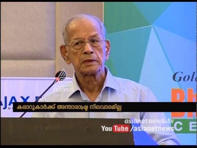 Metro man E Sreedharan speaks against Kochi Metro contractors
