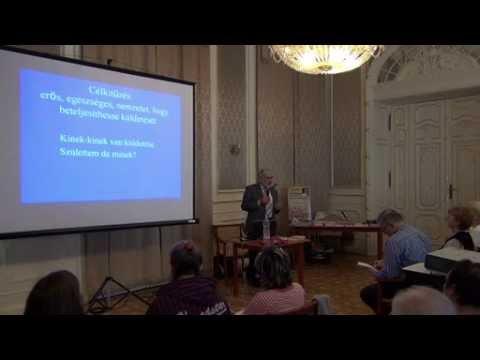 Dr. Eőry Ajándok előadása a Benczúr Házban