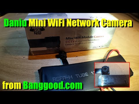 Daniu Mini WiFi Network Security Camera from BangGood