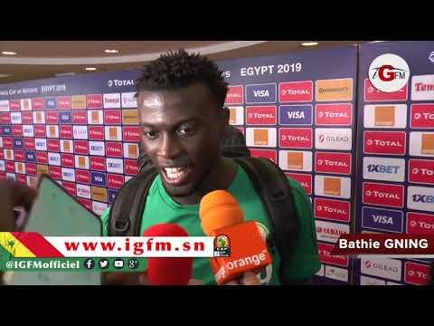 """CAN 2019-Mbaye Niang : """"on a montré qu'on avait un bon mental"""""""