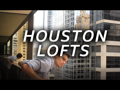 Houston Apartment Tour: Downtown Loft - VLOG #2