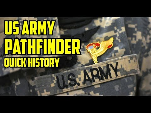 UNITED STATES ARMY PATHFINDERS
