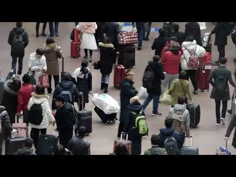 World's biggest travel rush begins in China for Lunar New Year