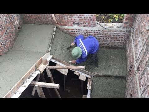 Intelligent Construction Concrete Stair In The House - Heavy Work