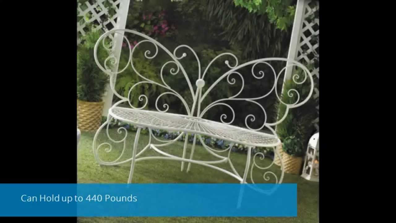 Butterfly Garden Bench-Outdoor Garden Furniture Sale - YouTube