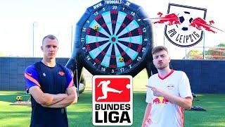 Fußball Challenge vs. BUNDESLIGA PROFI Lukas Klostermann   ViscaBarca