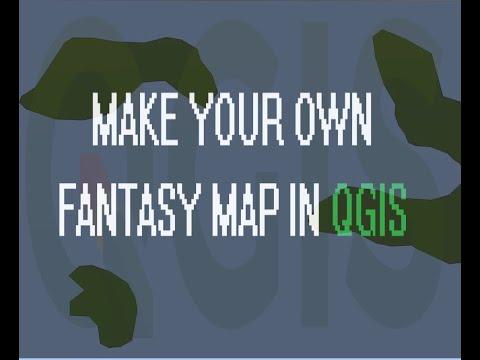 Fantasy Map Making Tutorial in QGIS thumbnail