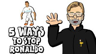 🚫5 WAYS TO STOP RONALDO!🚫 (Parody Champions League Final Real Madrid vs Liverpool)