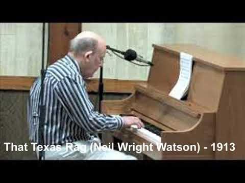 That Texas Rag (Nell Wright Watson) - 1913 - PB Richard Zimmerman