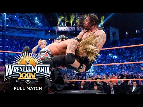 FULL MATCH - Edge vs. The Undertaker – World Heavyweight Championship Match: WrestleMania XXIV