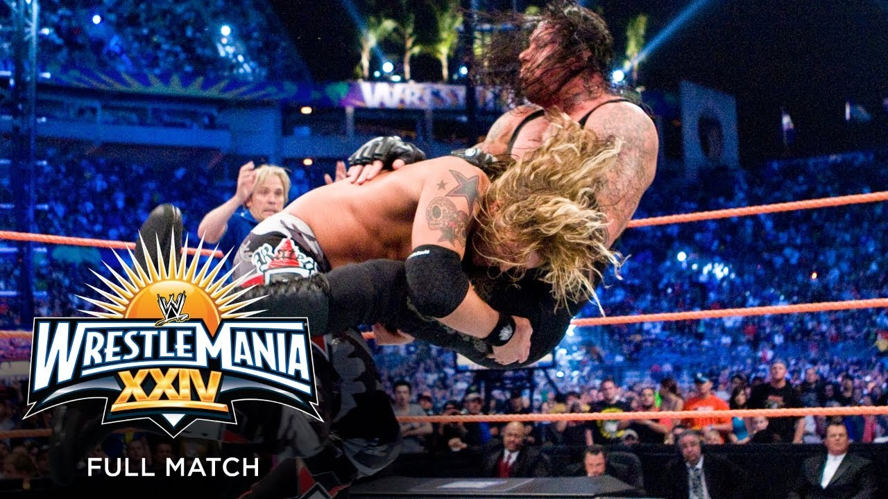 Download FULL MATCH - Edge vs. The Undertaker – World Heavyweight Championship Match: WrestleMania XXIV