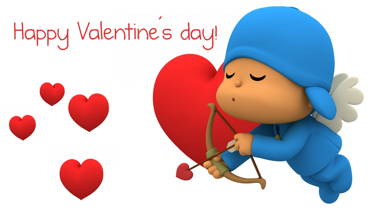 ♥ happy valentine's day with pocoyo ♥ - youtube, Ideas