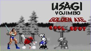Usagi Yojimbo, Golden Axe, Cool Spot - RetroArcade #15