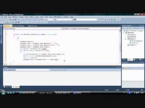 Hexadecimal Converter Part 2 - Visual C#