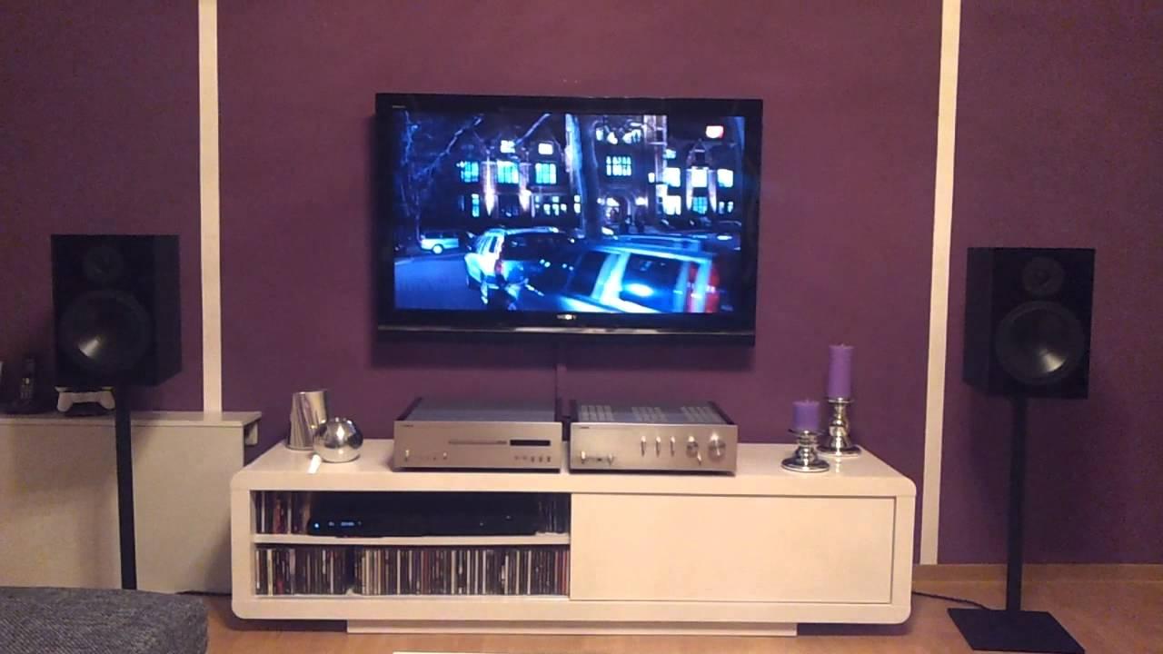 nubert nubox 381 on yamaha a s1000 cd s1000 youtube. Black Bedroom Furniture Sets. Home Design Ideas