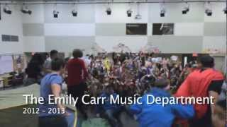 [OFFICIAL] 2012-2013 E.C.S.S. Emily Carr Secondary School Music Department LipDub - Stutter in HD